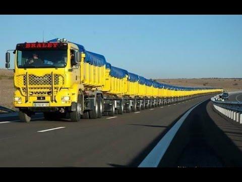 The World's Longest Truck - Road Train in Australia