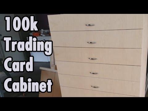 Trading Card Storage Cabinet - Magic The Gathering - xBeau Gaming