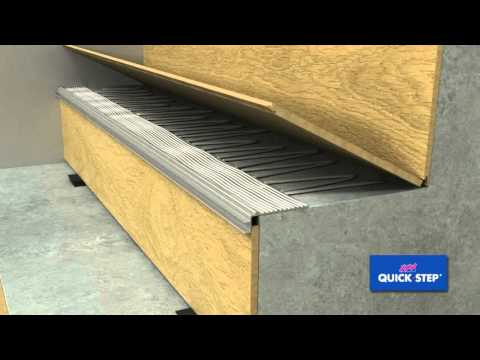 Quick Step Incizo stair profile installation