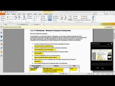 Highlighting Text in a PDF File using Foxit (Free Version)