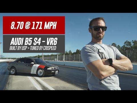 8.70 @ 171MPH - NEW RECORD!   USP Audi B5 S4 VR6