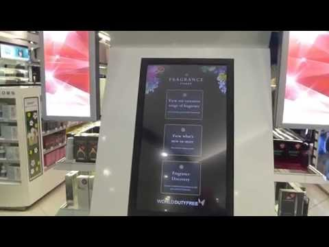 Live at World Duty Free Group's new store at the Queen's Terminal, Heathrow Airport T2 (Part 1)