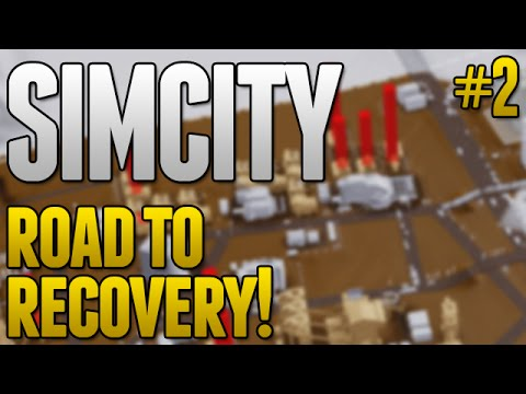 SimCity Road To Recovery! - GROUND POLLUTION ISSUES! #2