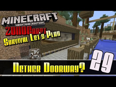 Minecraft Survival Let's Play :: Nether Doorway? :: E29