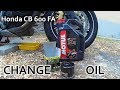 [HowTo] - Change Motul 7100 10w40 Engine Oil for Honda CB 600 FA Hornet