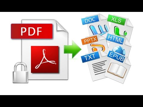 How To Convert Any File To PDF in Windows 10 Tutorial