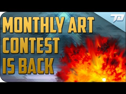 RETURN OF THE MONTHLY ART CONTEST!   Doomsday Art Contest Info
