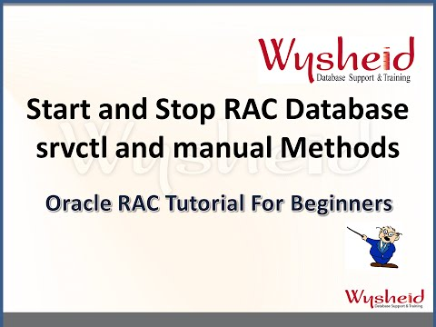 Startup and Shutdown of RAC database | oracle rac administration | srvctl commands