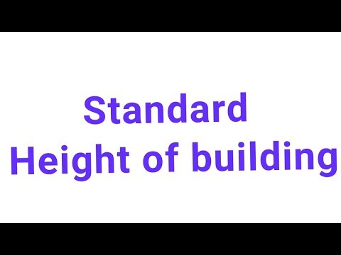 standard height of building