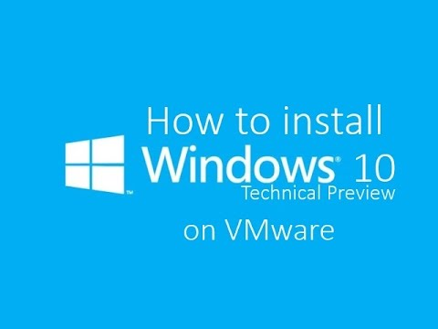 Install Windows 10 technical preview on Vmware/Virtual Box - Does not affect your PC