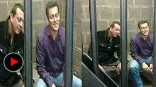 Salman Khan in jail With Sanjay Dutt: Newzzlive