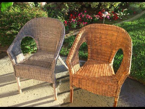 Pressure Washing Wicker Chairs - Sun Joe SPX3000