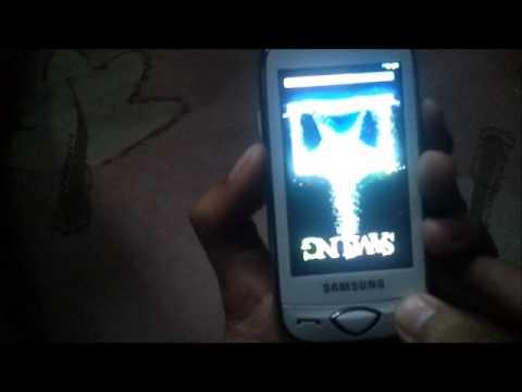 widgets en el samsung tocco gt-s5560