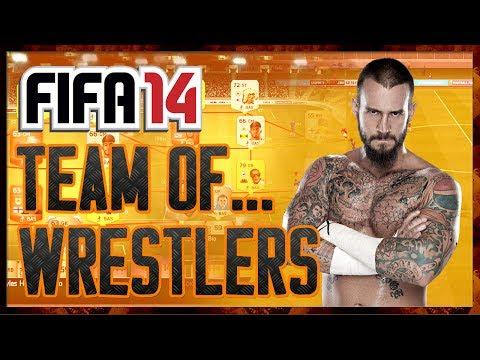 FIFA 14 || A TEAM OF WRESTLERS || LOL C'MON!!
