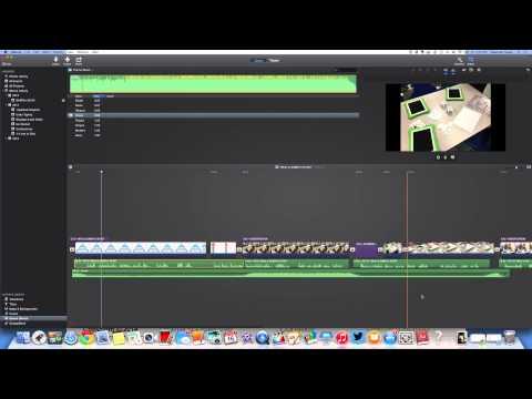 Adding Music & Sound Effects in iMovie 10.0
