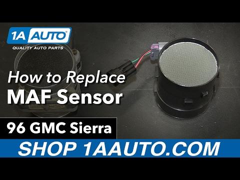 How to Install Replace MAF Mass Air Flow Sensor 1996 GMC K1500 V8 5.7L Sierra
