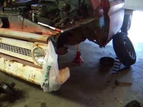 Vinny's Rat Rod: Front Suspension (Old)