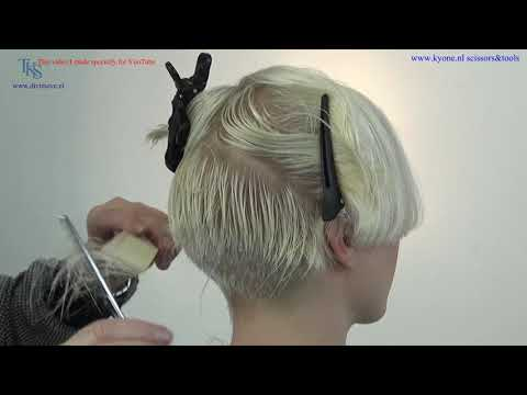 A super sexy feminine Pixie Bob hairstyle for Emmy  C&C Tutorial by T.K.S.