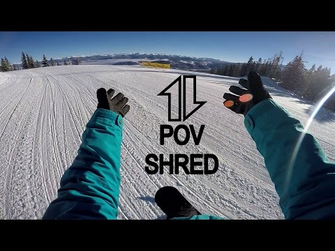 POV Snowboarding.  (point of view) #sparkling