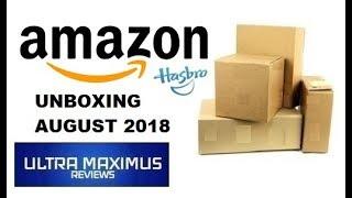 Amazon Unboxing (August 2018)