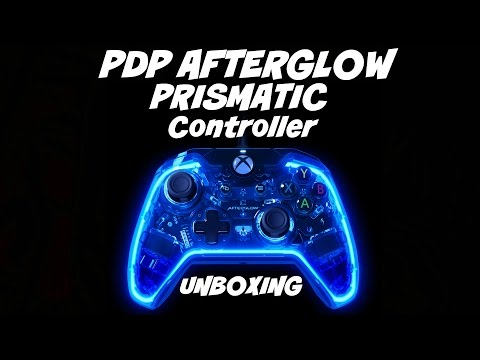 PDP Afterglow Prismatic Wired Controller for XBOX ONE / PC Unboxing