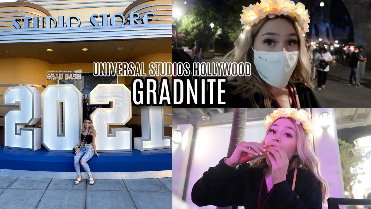 MY GRADNITE AT UNIVERSAL STUDIOS | SUMMERMESS DAY 1