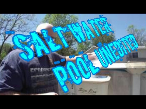 Full length unedited Adding salt to an above ground pool
