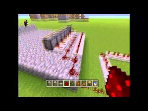 How to make an auto reloading TNT Cannon in Minecraft(Xbox 360/PC)
