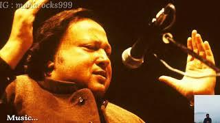 Sochta Hoon - Lyrics with English translation  Ustad Nusrat Fateh Ali khan Sahab  Dekhte Dekhte  