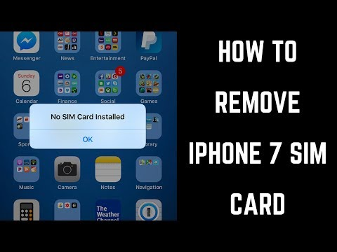 How to Remove SIM Card from iPhone 7 or iPhone 7 Plus