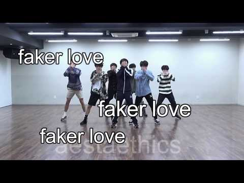 bts - fake love dance practice things you didn't notice/fangirl edition