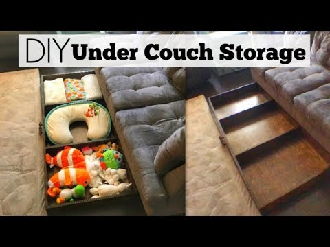 How to Make DIY Storage | Under Couch or Bed Organizer