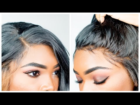 HOW TO CUSTOMIZE YOUR LACE FRONT WIG & MAKE IT LOOK NATURAL  | BeautyandMarie