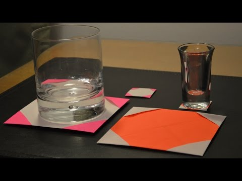 How to Make a Paper Coaster