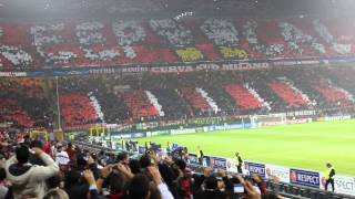 AC Milan vs Barcelona - San Siro, Milano - Uefa Champions League Introduction