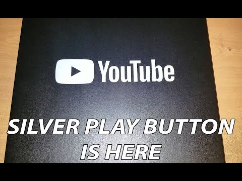 SILVER PLAY BUTTON IS HERE!!!