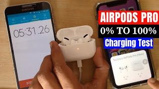 AirPods Pro Charging Test 0 to 100%