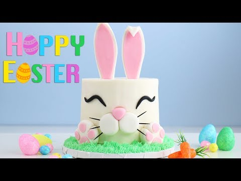 The Trendy EASTER BUNNY CAKE!