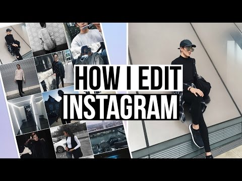 HOW I EDIT MY INSTAGRAM PICTURES! Tumblr Instagram Photo Theme!