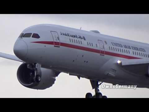 United Arab Emirates Boeing 787-9 Dreamliner Missed Approach Test Flight