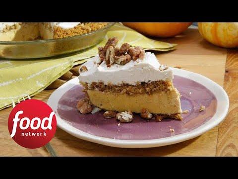 No-Bake Pumpkin Ice Cream Pie | Food Network