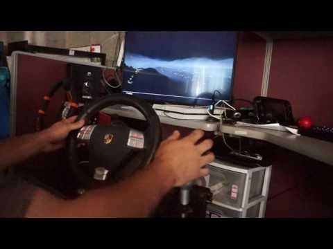 Fanatec turbo S wheel playing driveclub ps4  cronusmax beta firmware