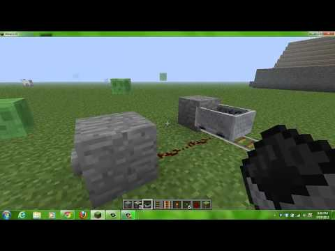 How to make a minecart move without pushing 1.2.5