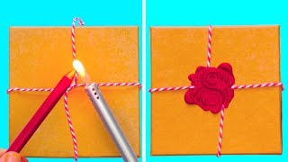 19 CREATIVE GIFT WRAPPING IDEAS FOR DIFFERENT PARTIES