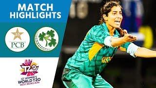 Pakistan V Ireland Womens World T20 2018 Highlights