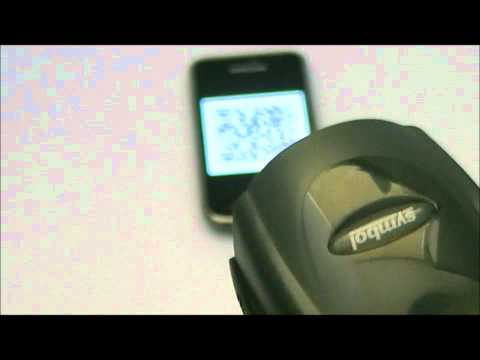 2D barcode scanning from smartphone screen