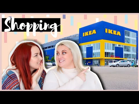 Shopping for Inspiration in IKEA! Craft Room & Organization Ideas   Moving Into My New Apartment