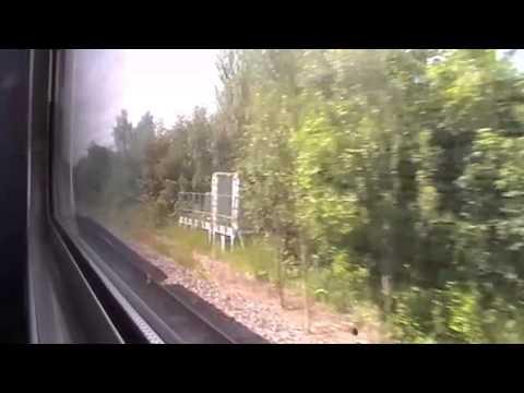 Nottingham Station (Including a rare class 150) 21-06-2013