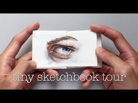 tiny sketchbook tour