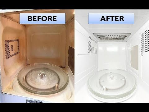 How To Clean Microwave With Vinegar and Lemon | Quick and Easy Methods